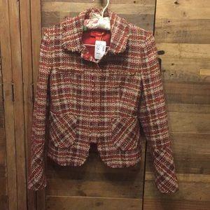 NWT La Via 18 wool blazer - Sz IT40 (US 4)